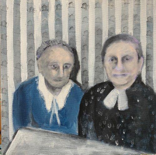 Simone Wolff, Malerei, zur Bildergalerie Elke Kraul Hannover